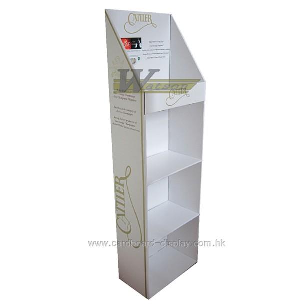 紅酒洋酒紙板陳列櫃,紙板展示櫃