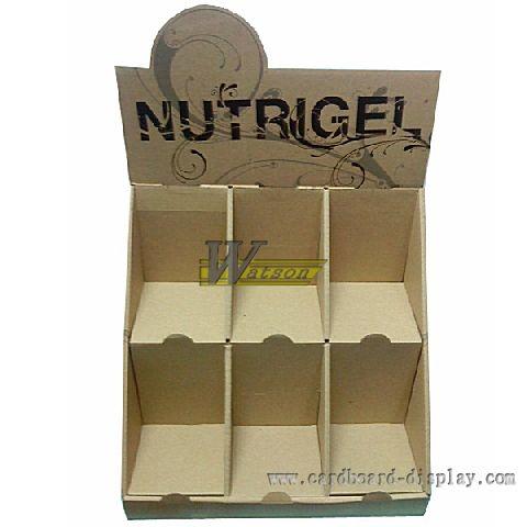 糖果台面式纸陈列盒,零食纸展示盒图片